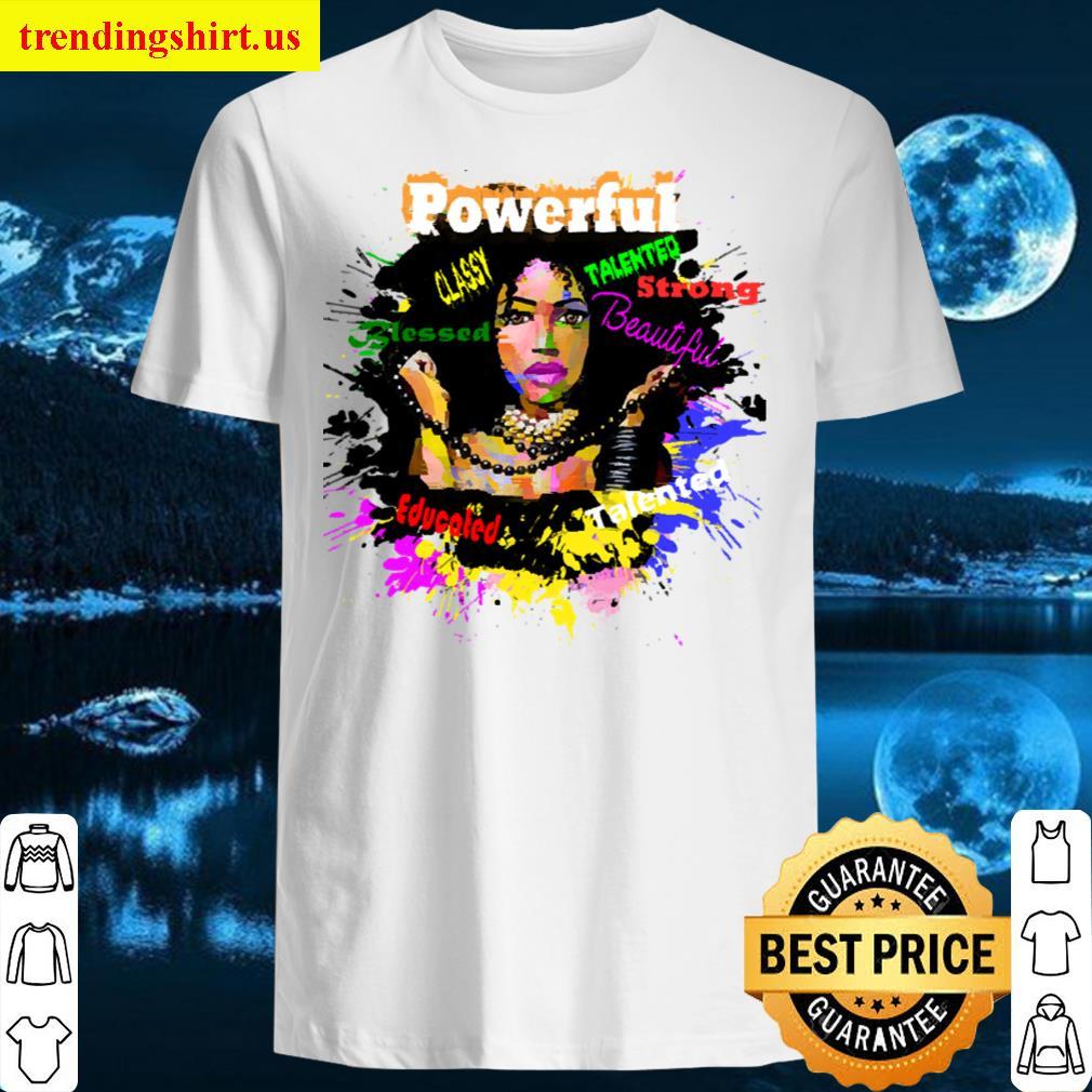Black Women Positive Character Traits Men T-shirt