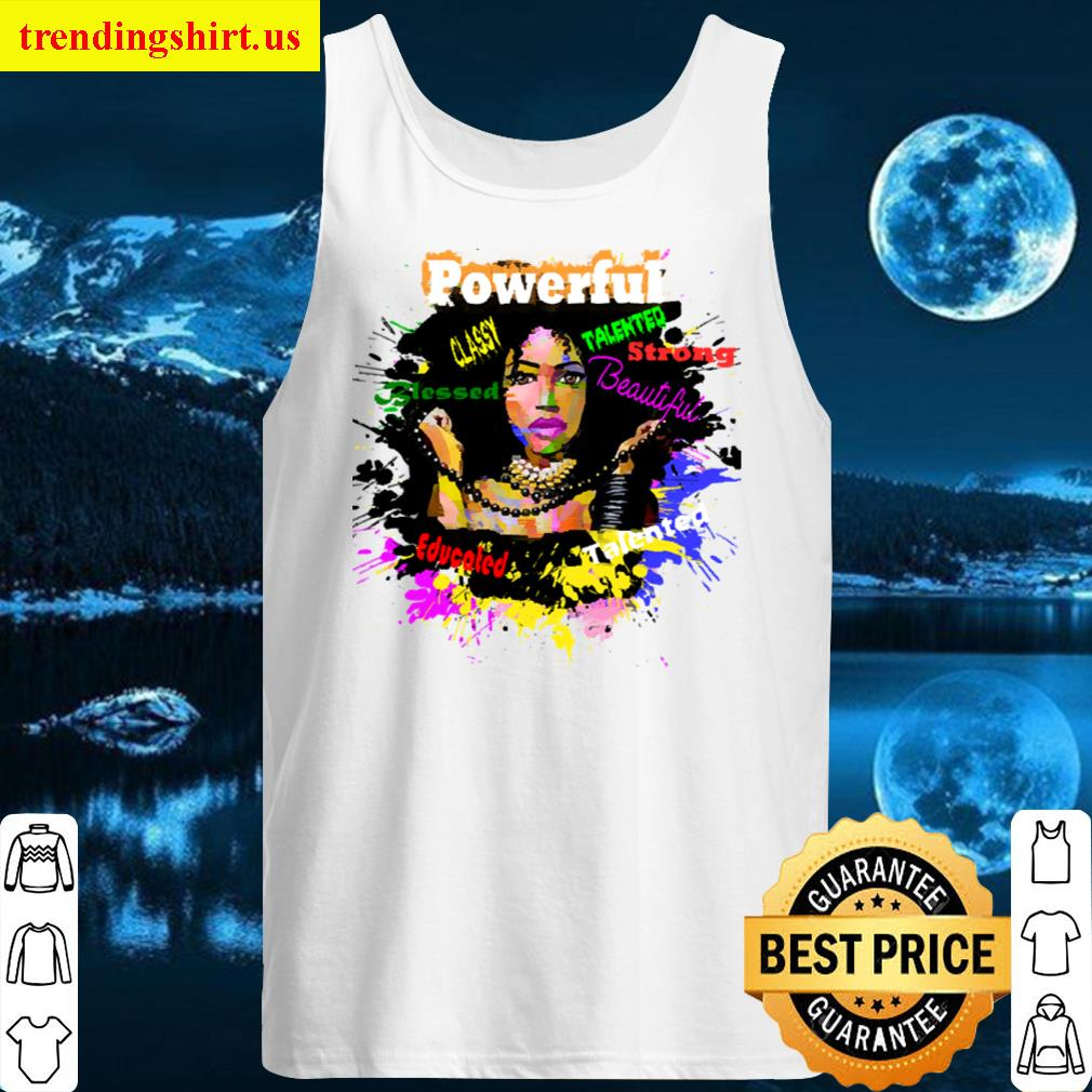 Black Women Positive Character Traits Women T-shirt