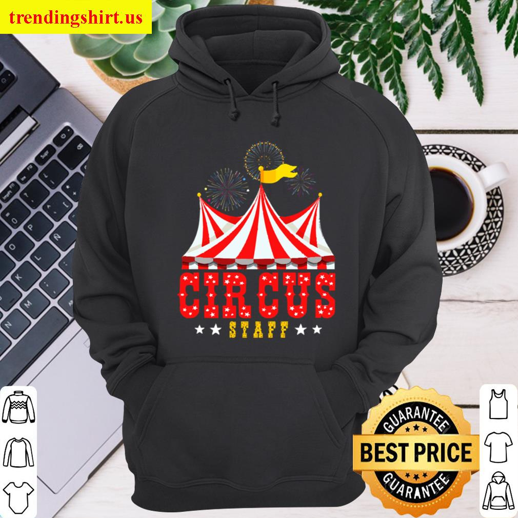 Circus Staff Party Retro Vintage Carnival Outfit Unisex Hoodie