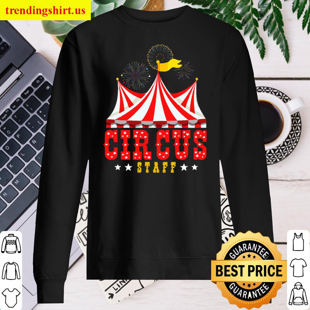 Circus Staff Party Retro Vintage Carnival Outfit Long Sleeved Shirt