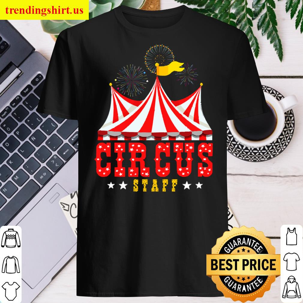 Circus Staff Party Retro Vintage Carnival Outfit Men T-shirt