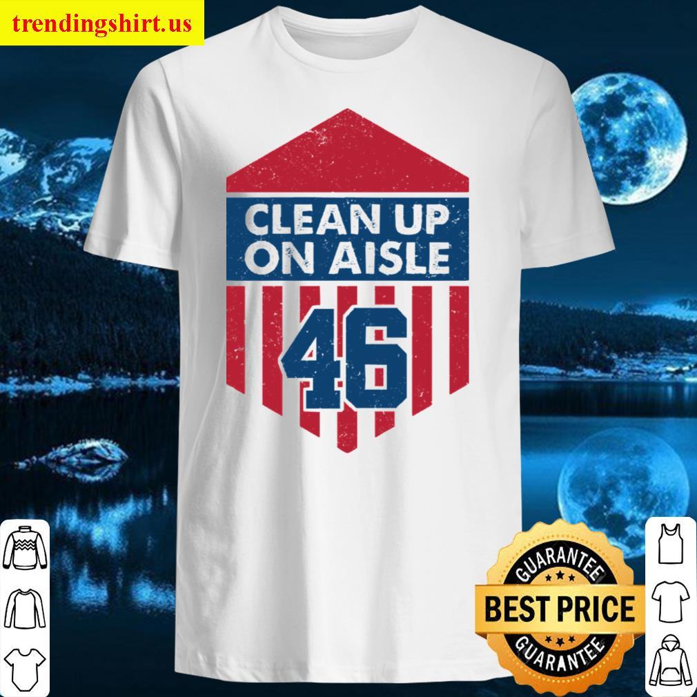 Clean Up On Aisle 46 Hoodie Men T-shirt