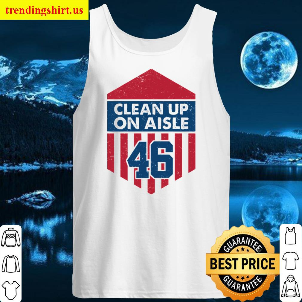 Clean Up On Aisle 46 Hoodie Women T-shirt